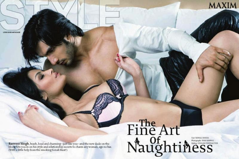 Ranveer Singh Hot Photoshoot Pics