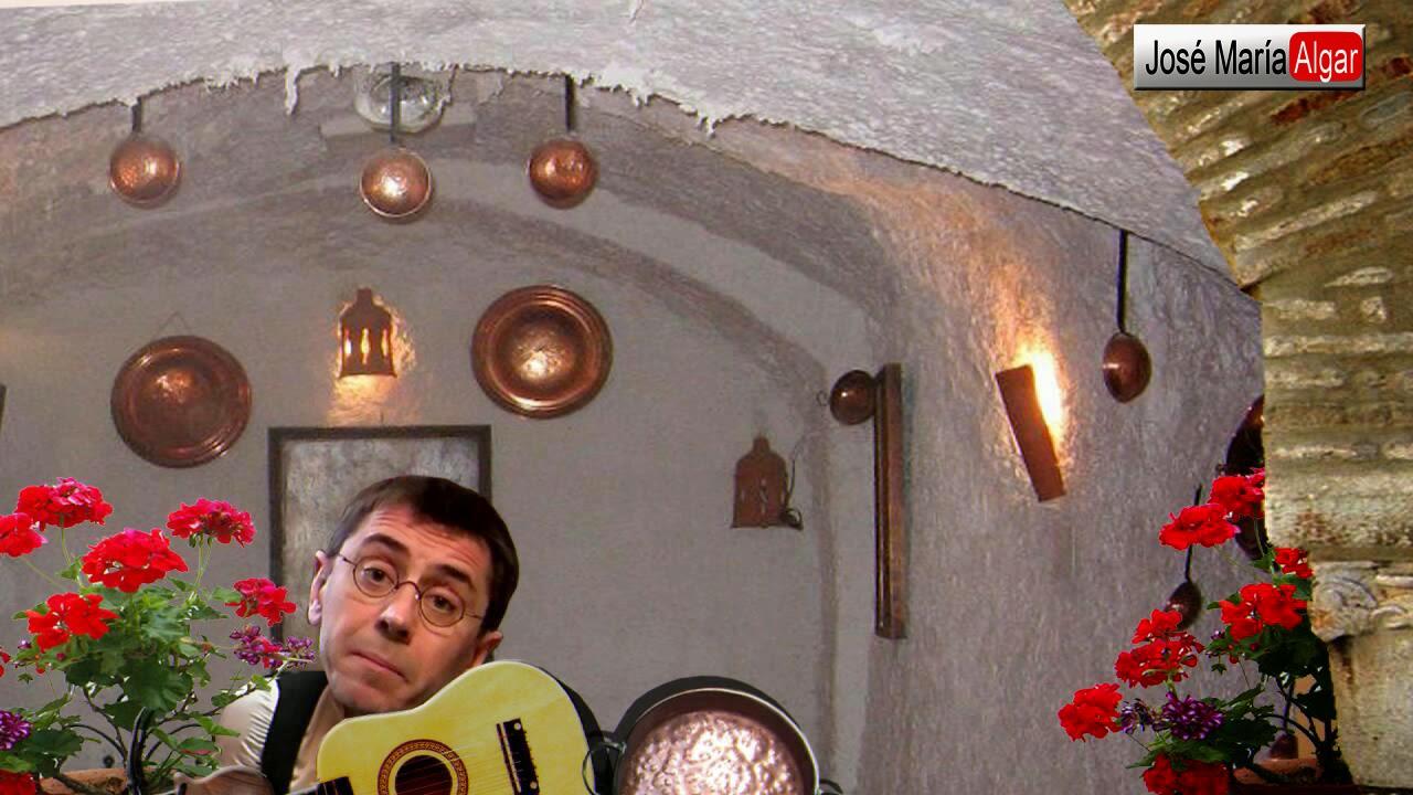 Monedero atacado por el camarero Casillas.