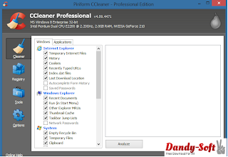CCleaner Professional 4.09.4471 Full Version