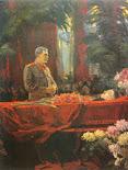 Stalin en el funeral de Zhdanov
