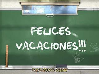 Maestra Asunción: ¡FELICES VACACIONES!!!. FULL IMÁGENES.