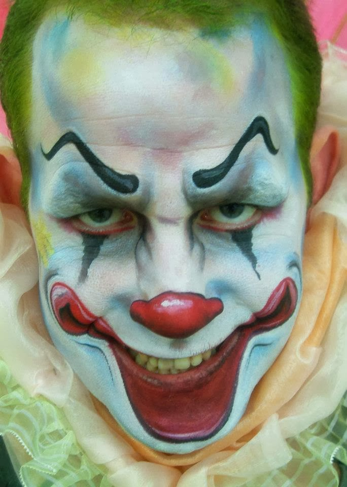 makeup ideas scary clown series 2016 redone full video i get to have ... M Fish Packaging