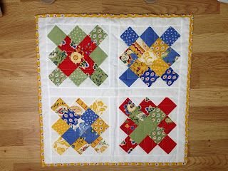 Mini Quilt granny square swap