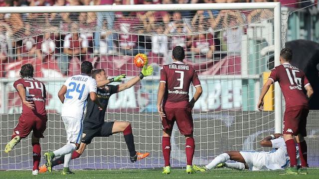 Hasil laga Torino 0-1 FC Internazionale