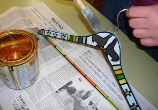 Como Pintar Perchas, Decoración Personalizada para Accesorios