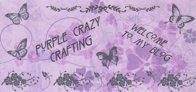 Purple Crazy Crafting