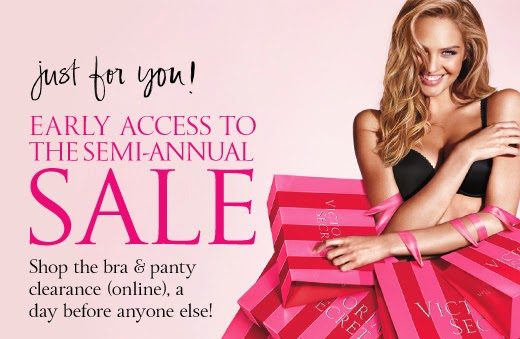 Victoria's Secret | Semi Annual Sale | Begins today online