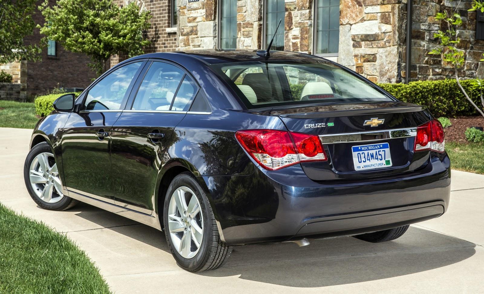 Chevrolet cruze diesel 46 mpg sets highway fuel economy benchmark