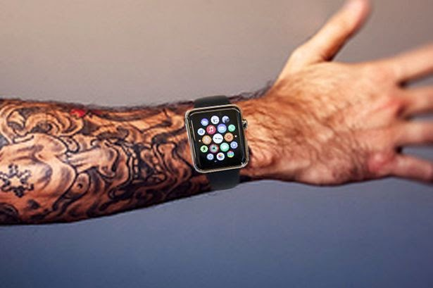Apple iWatch Tatto doesn't work