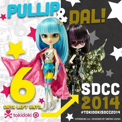 SDCC Pullip Tokidoki Super Stella y Dal Tokidoki Vendettina