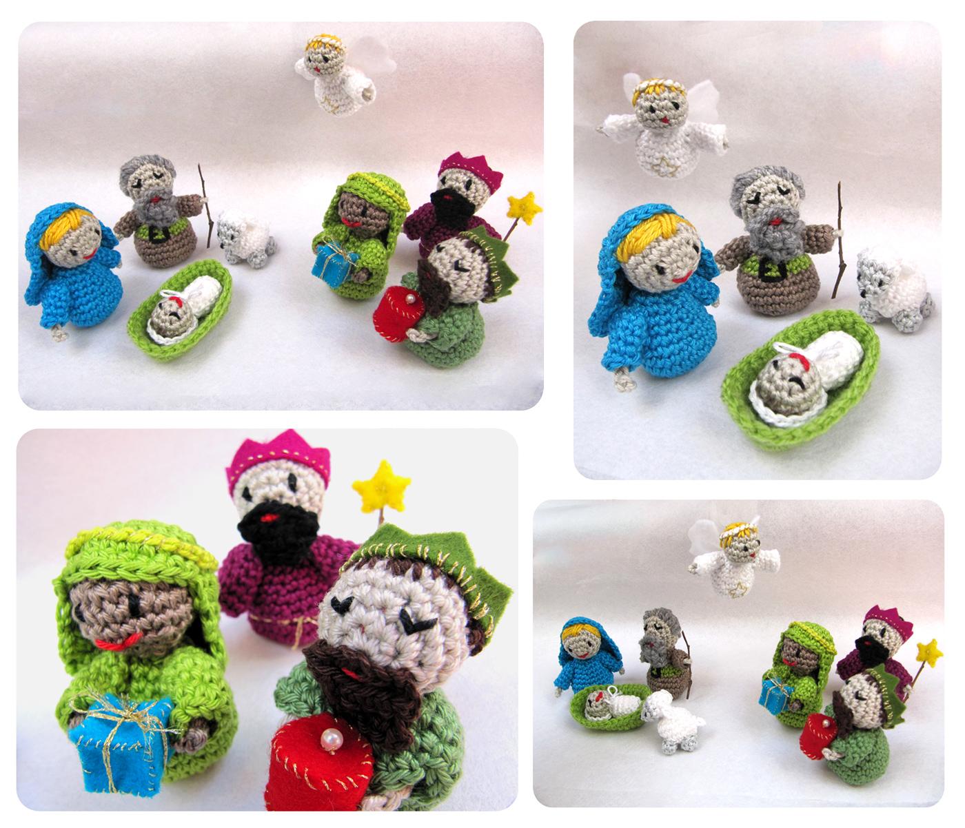 Nacimiento/pesebre amigurumi - Agujas, Hilos... Crochet!!!