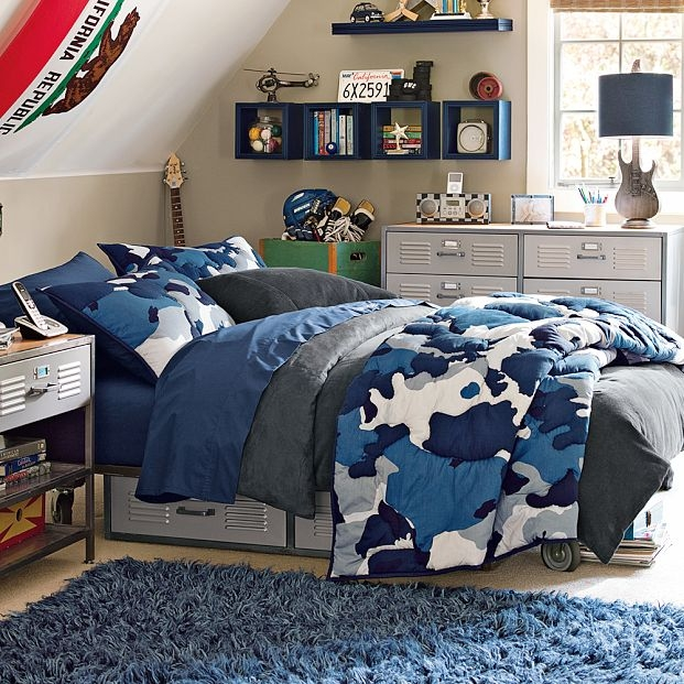 12 teen boy rooms for inspiration nooshloves for Camouflage bedroom ideas for kids
