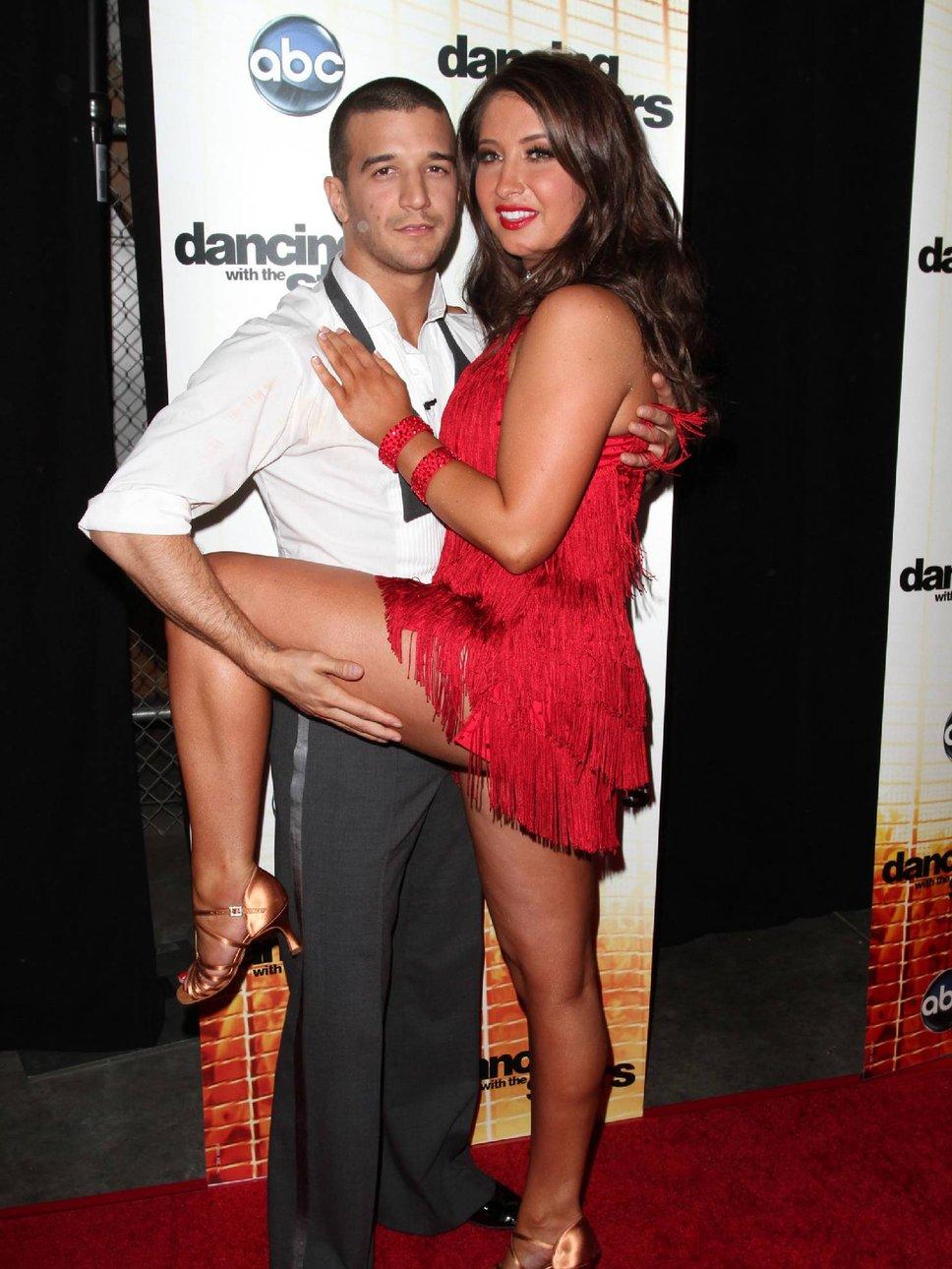 Bristol palin dating mark ballas 2012