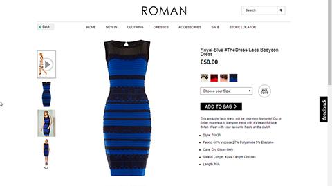 Vestido-roman-azul-negro