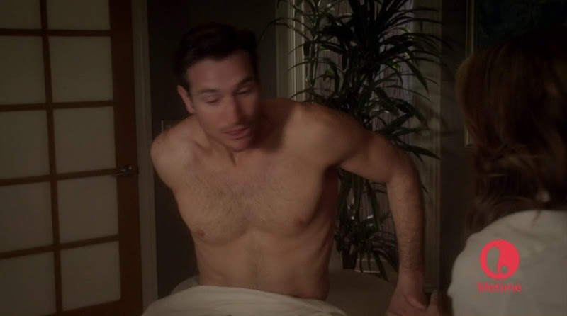 Matthew Del Negro Shirtless in The ClientList s1e05