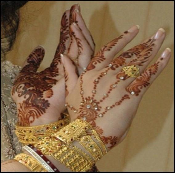 Arabic bridal Mehndi photos  2013
