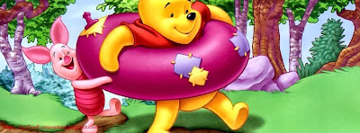 Couverture facebook HD winnie the pooh