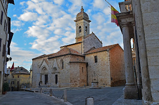 Collegiate Church of San Quirico, Italy