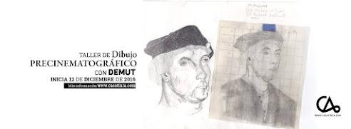 DIBUJO PRECINEMATOGRÁFICO // 12 dic