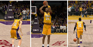 NBA 2K13 Lakers Gold Jersey Mod