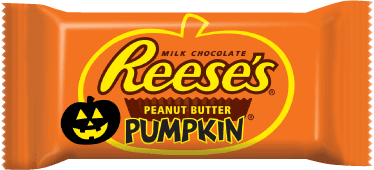 picture of wrapped Reese's peanut butter pumpkin
