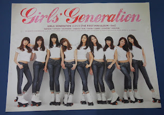 Girls Generation (SNSD) - Gee 1st Mini OFFICIAL POSTER HARD TUBE CASE