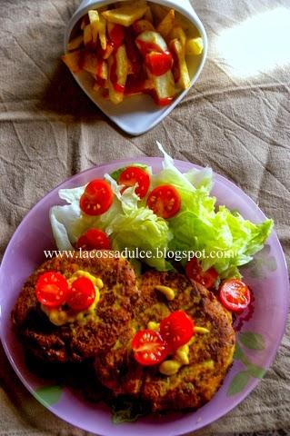 La cossa dulce hamburguesas de verduras - Hamburguesa de verduras ...