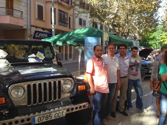 El Autogas GLP presente en la Feria del Motor de Inca 2014 con Gasmocion