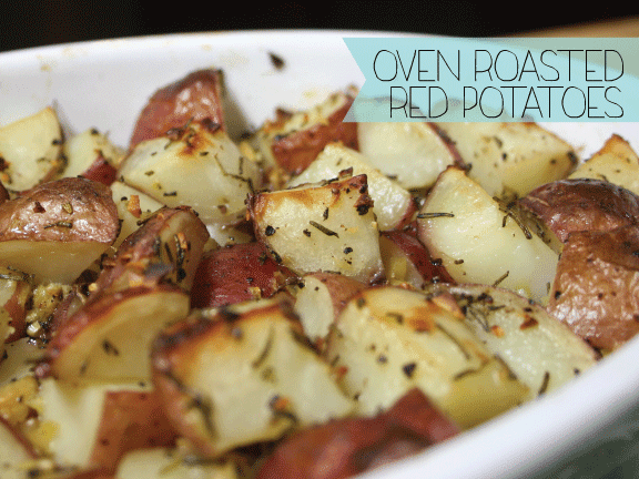 Just A Darling Life: Oven Roasted Red Potatoes
