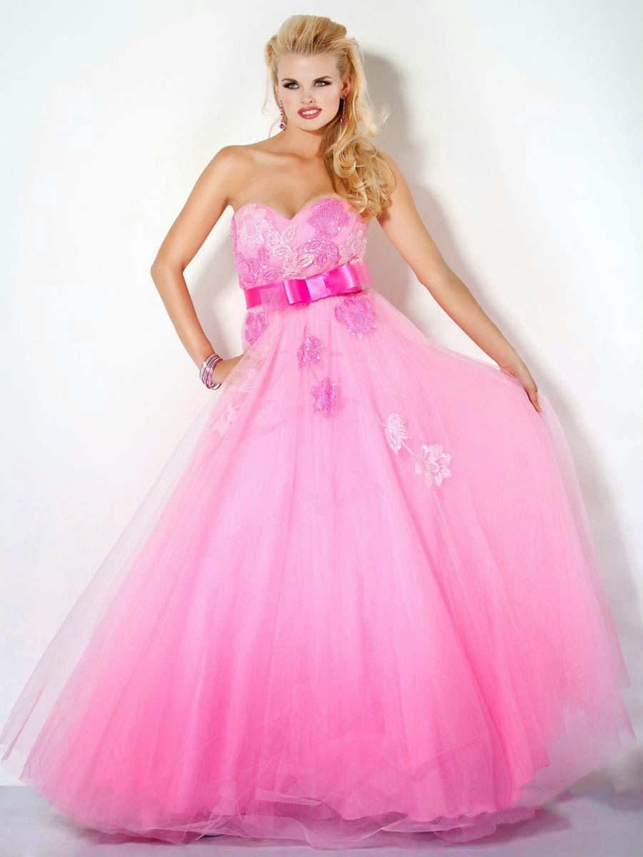 Top 3 pink prom dresses ball gowns 2013 prom dresses for Pink homecoming dresses
