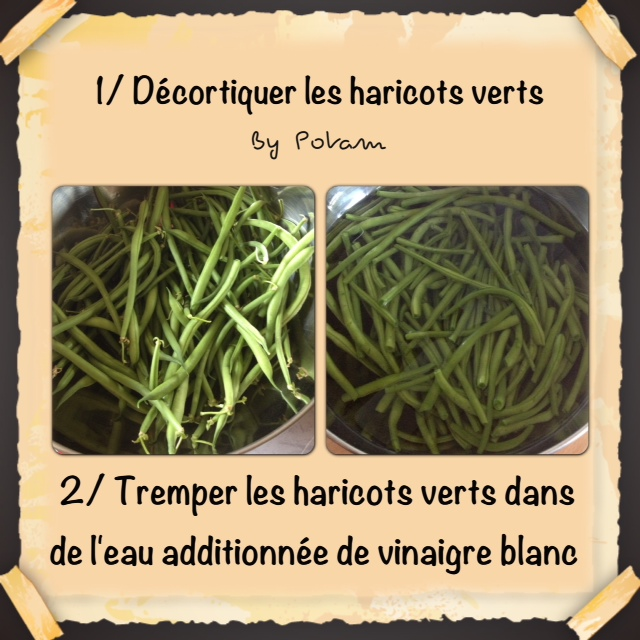 Les rendez vous gourmands cuisson des haricots verts au - Comment congeler les haricots verts du jardin ...