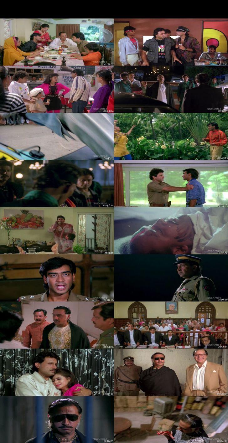 Screen Shot Of Kanoon 1994 300MB DVDRip 480P Full Hindi Movie Watch Online Free Download