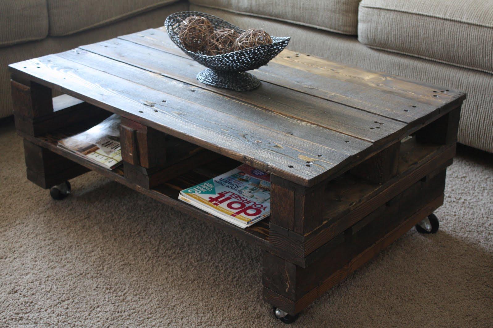 mesa con palets tutorial - Mesa Con Palets