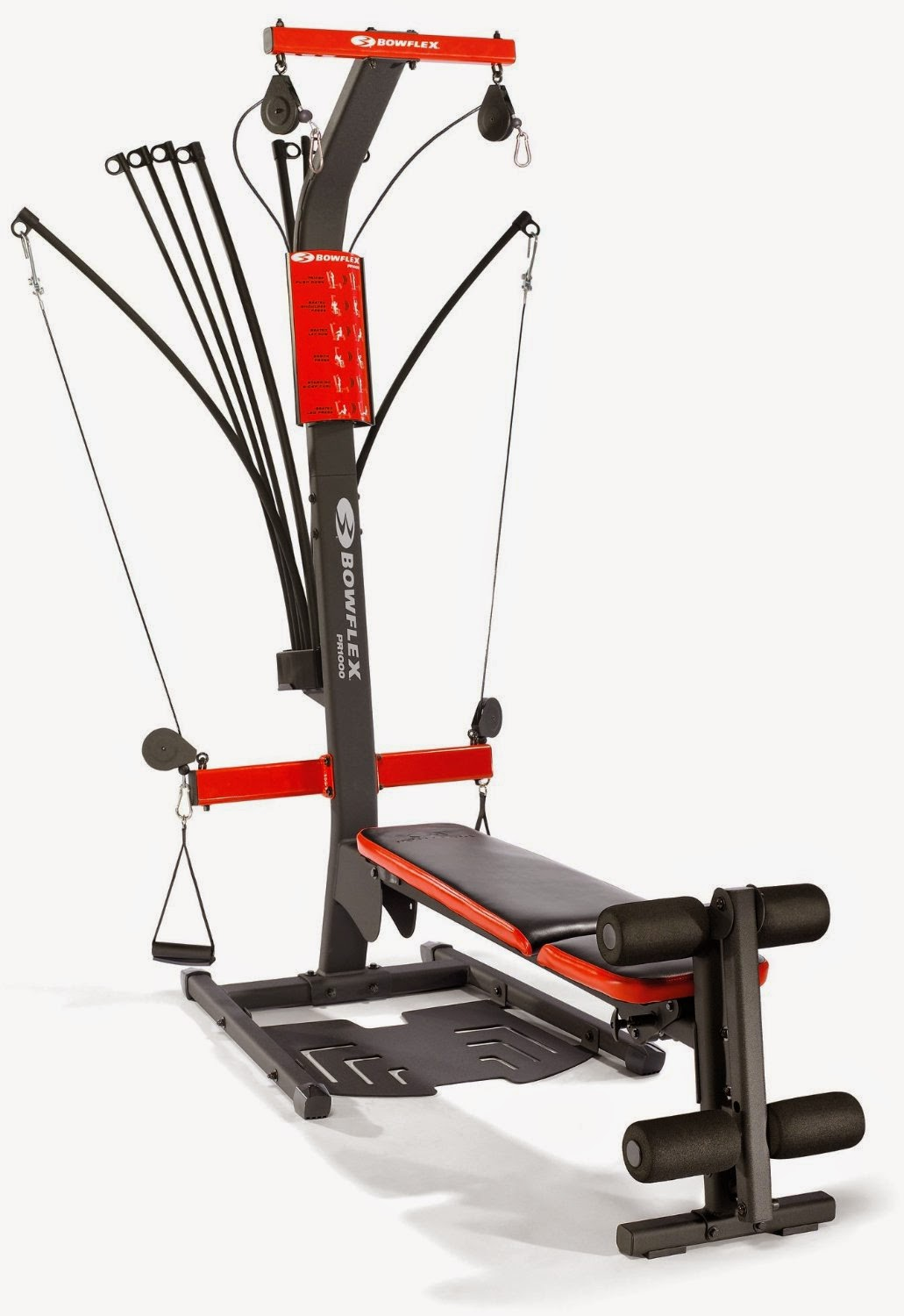 Health and Fitness Den: Bowflex PR1000 versus Bowflex PR3000 Home Gym