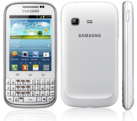 Svelato il prezzo del Samsung Galaxy chat adatto per chattare e social network