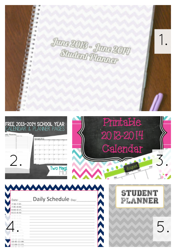 Free Academic Year Printables - A Thrifty Mrs