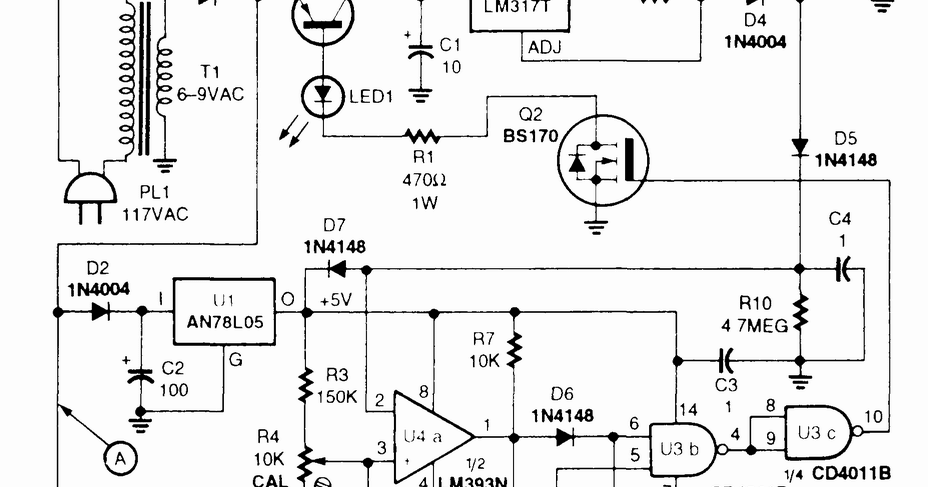 smart battery charger circuit diagram