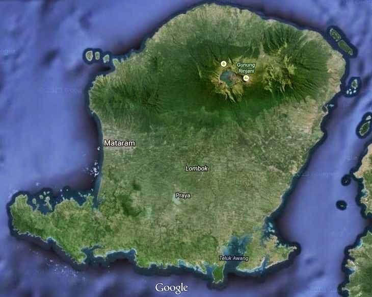 Lombok island Indonesia