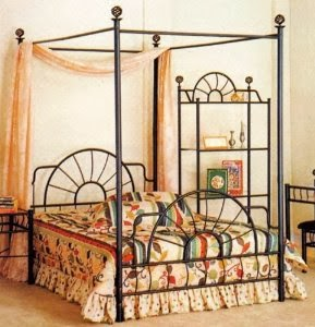 ACME 02084F Sunburst type Full Canopy Bed Review & ACME 02084F Sunburst type Full Canopy Bed Review | Bed Frames For Sale