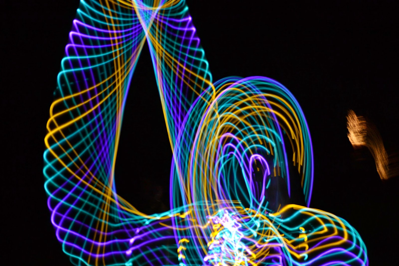 LED Hula Hoop Movement