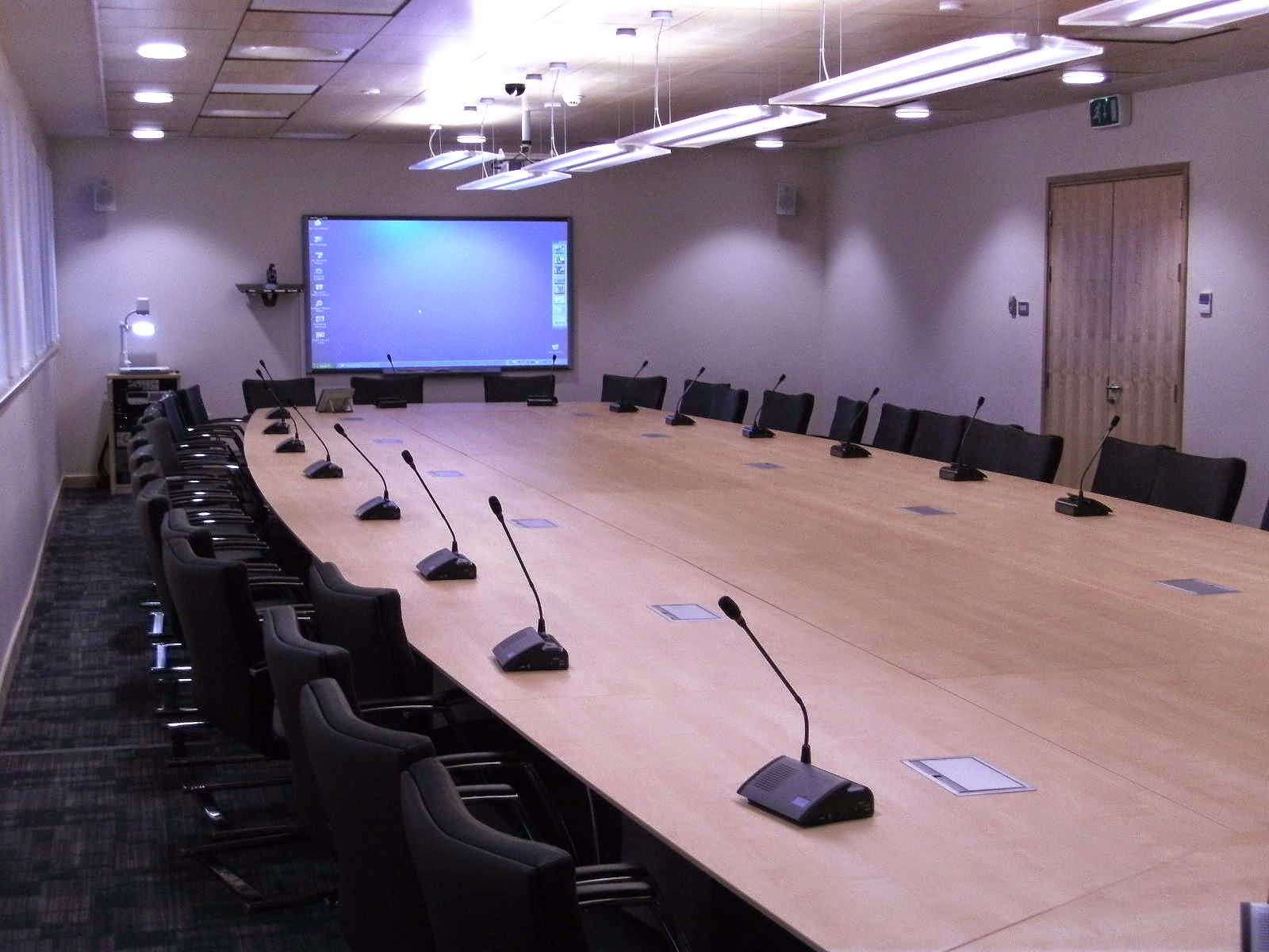 Conference Room Audio Visual Equipment