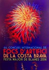 44 Concurso Internacional de Fuegos de Artificio de La Costa Brava