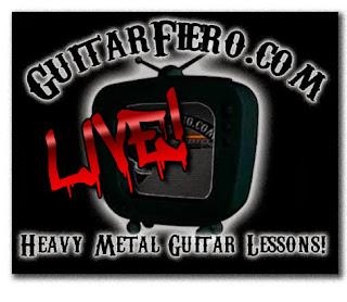 Logotipo Guitarfiero Live