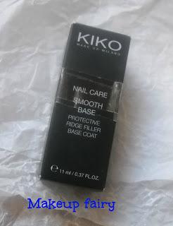 kiko nail care smooth base coat