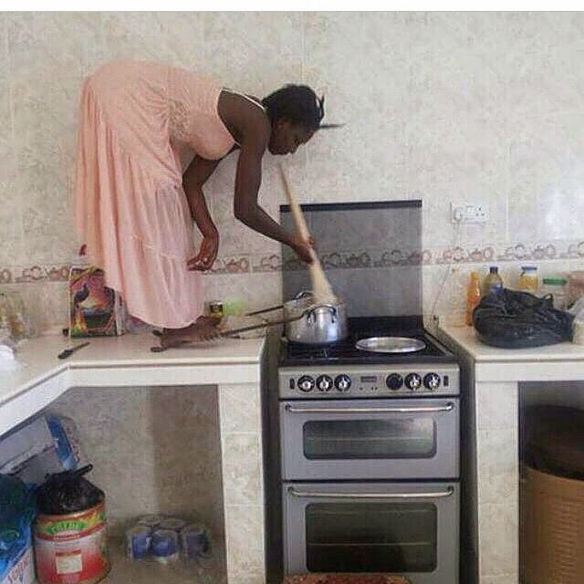 Photo of the Day: Serious Cooking Going On
