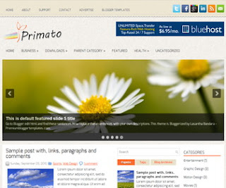 Primato-Blogger-Template