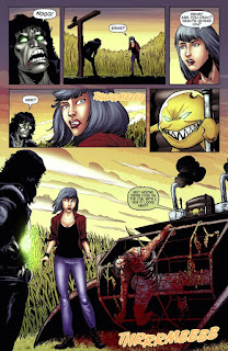 Page 20 of Alice Cooper vs Chaos! #1 from Dynamite Entertainment featuring Evil Ernie and Smiley