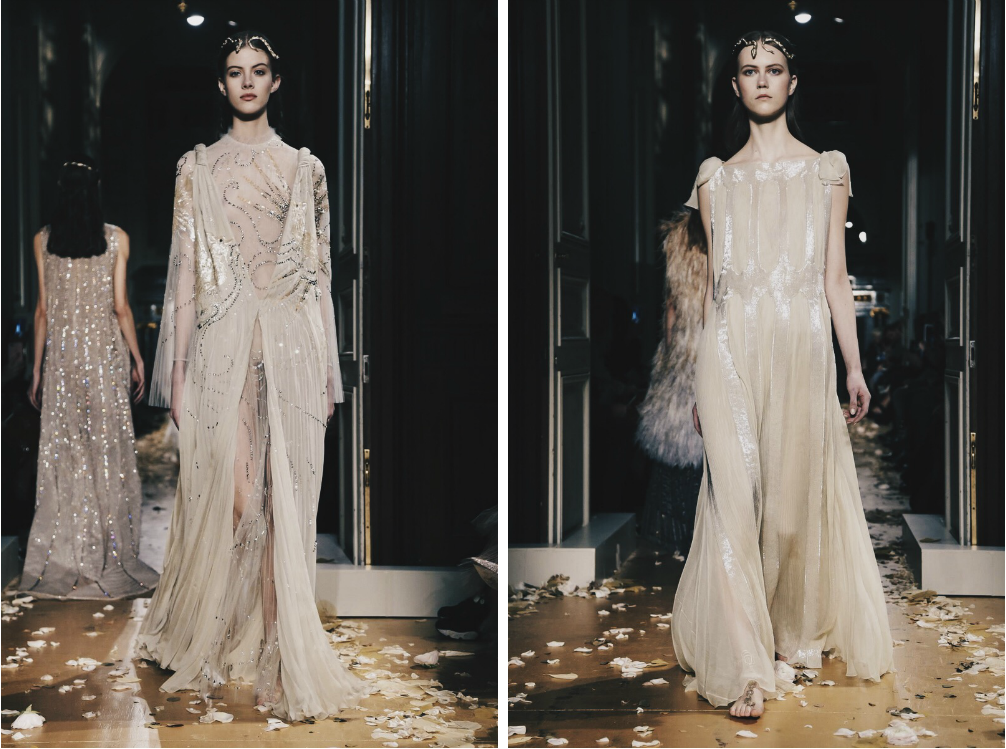 Ana Maddock- Valentino Paris Haute Couture Fashion Week SS16