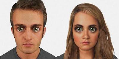Evolusi Wajah Manusia 100 ribu Tahun Akan Datang