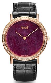 Montre Piaget Altiplano Cadran en cœur de rubis référence G0A37204